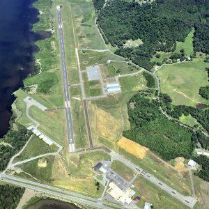 Guntersville Airport Ariel View