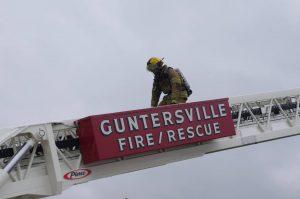 Guntersville Fire & Rescue Ladder truck
