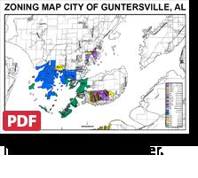 Guntersville zoning map north