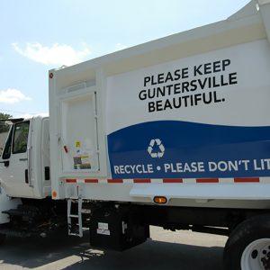 Guntersville Public Works GarbageTruck