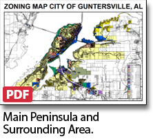 Guntersville zoning map main