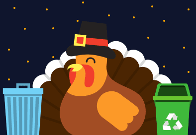 Modified Thanksgiving Garbage and Recycling Schedule