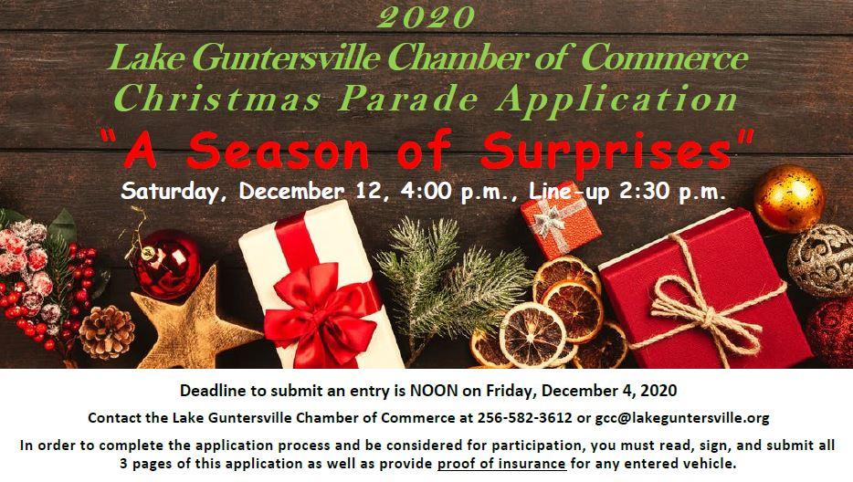 Guntersville Christmas Parade Modifications
